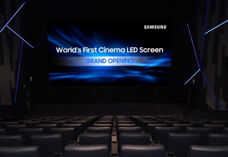 Η Samsung παρουσιάζει την πρώτη Cinema LED οθόνη παγκοσμίως