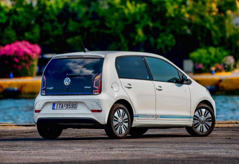 """Συνεργασία Protergia- VW: Tο ηλεκτροκίνητο """"Ε-UP"""" με 19.950 ευρώ"""