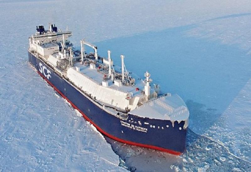 Το πρώτο ταξίδι του παγοθραυστικού δεξαμενόπλοιου Christophe de Margerie