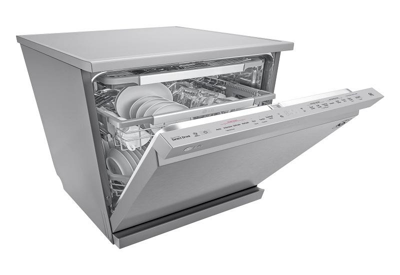 LG SteamClean: Tο νέο πλυντήριο πιάτων με την αναγνωρισμένη τεχνολογία ατμού