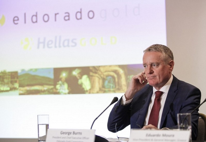 Αποζημίωση- μαμούθ θα διεκδικήσει η Eldorado Gold από το Δημόσιο