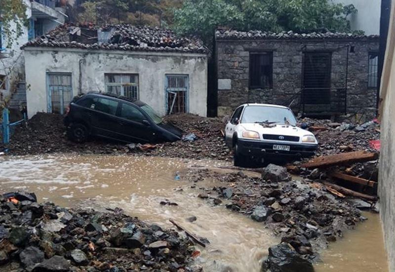 Σαμοθράκη SOS: Τεράστιες καταστροφές από τη σφοδρή καταιγίδα