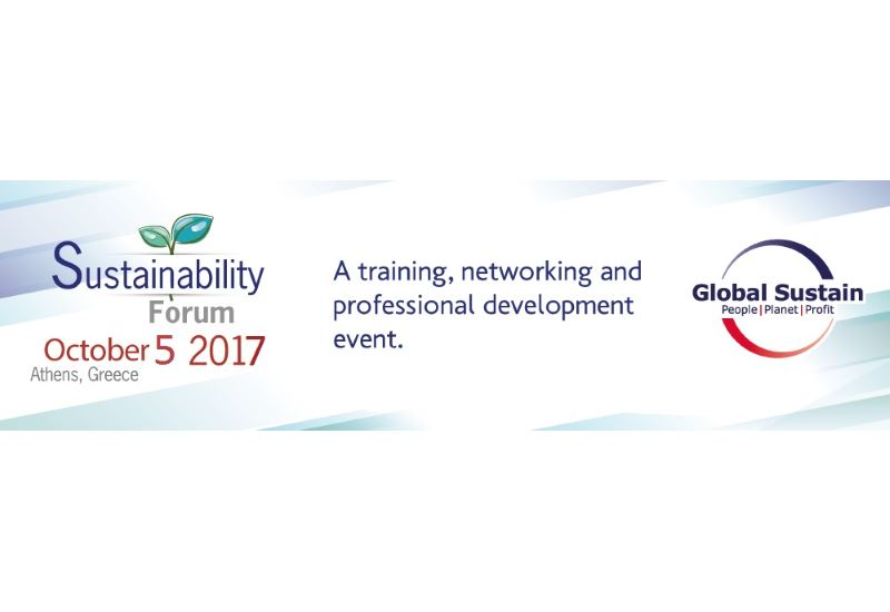 Στις 5 Οκτωβρίου το Sustainability Forum 2017