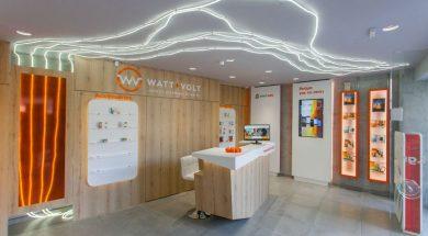 WATT+VOLT_Νέο κατάστημα Λάρισας Ι