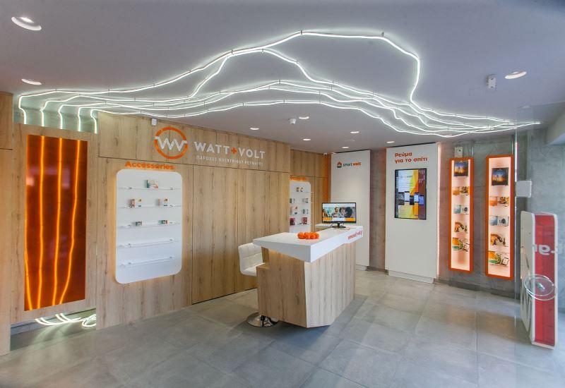 Νέο κατάστημα της WATT+VOLT στη Λάρισα