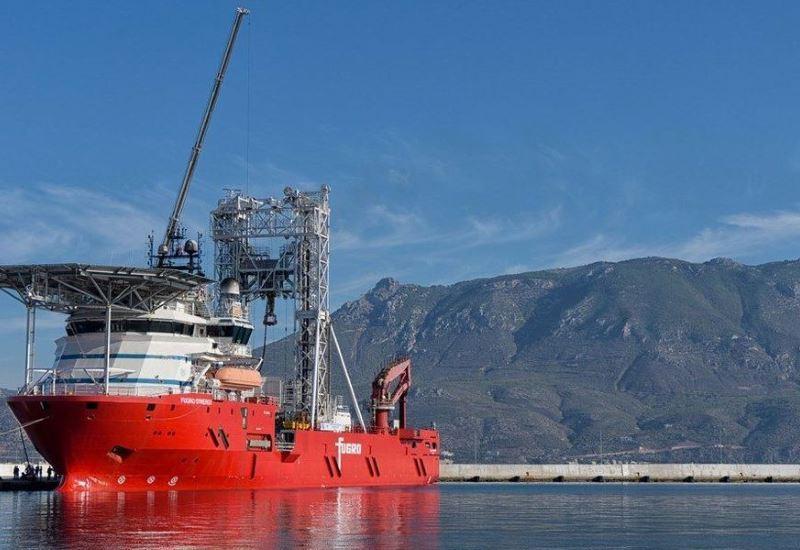 Έρευνες στον Κορινθιακό με το πλοίο-γεωτρύπανο Fugro Synergy