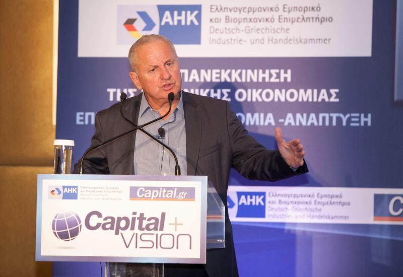 Γρ. Στεργιούλης (ΕΛΠΕ): Οι πέντε αναγκαίες προϋποθέσεις για την προσέλκυση νέων ενεργειακών επενδύσεων
