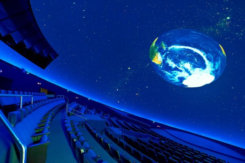 Νέο προηγμένο σύστημα προβολής στο Πλανητάριο