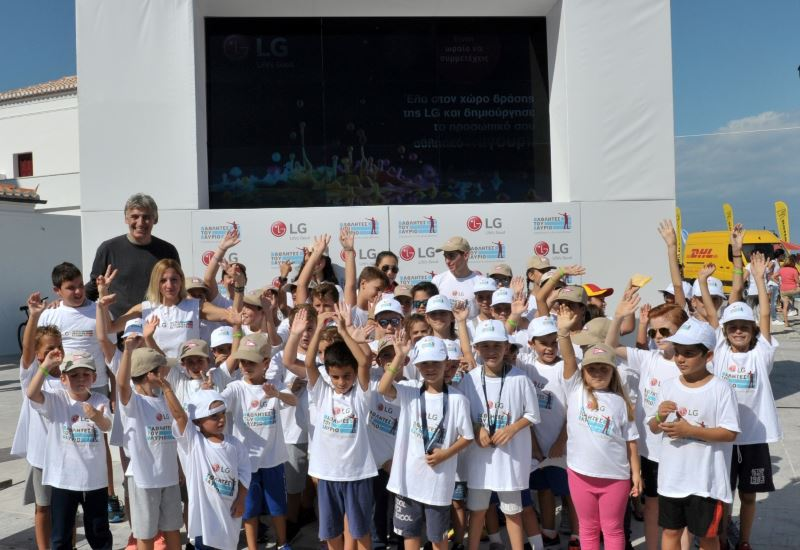 Το πρόγραμμα «LG Αθλητές του Αύριο» στο Spetses Mini Marathon 2017