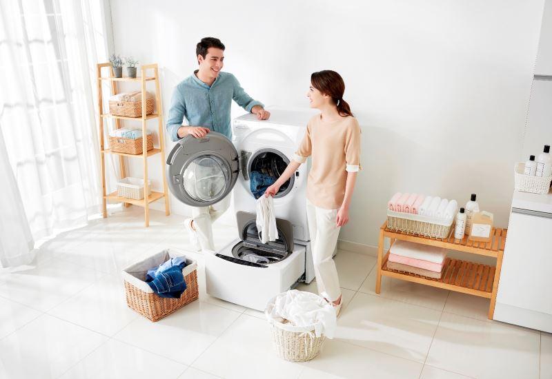 Το νέο πλυντήριο ρούχων TWINWash από την LG