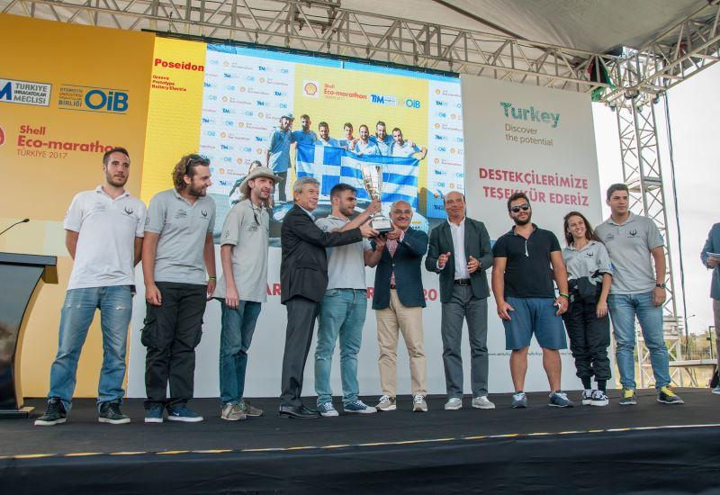 Α.Ε.Ι. Πειραιά Τ.Τ.: Πρώτο βραβείο στο Shell Eco Marathon 2017- Turkey