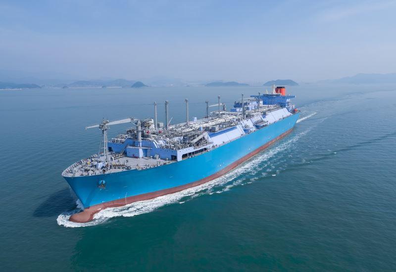 Με κατεύθυνση την Τουρκία, το μεγαλύτερο σκάφος LNG στον κόσμο