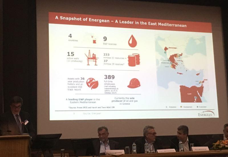 Δ. Γόντικας (Energean): Aνάπτυξη των φυσικών πόρων της ΝΑ. Μεσογείου και νέες ενεργειακές υποδομές