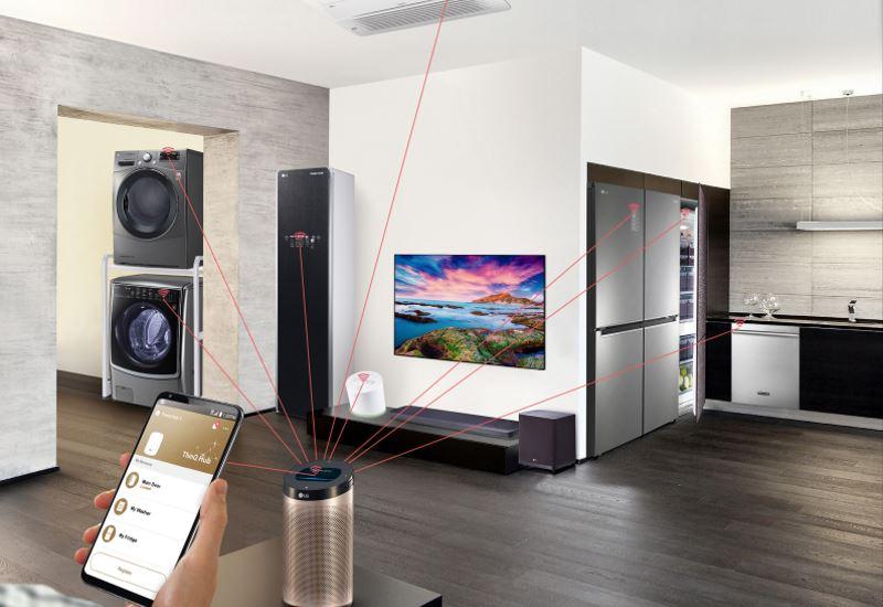 LG: Tο σπίτι του μέλλοντος με λύσεις «έξυπνου» οικοσυστήματος
