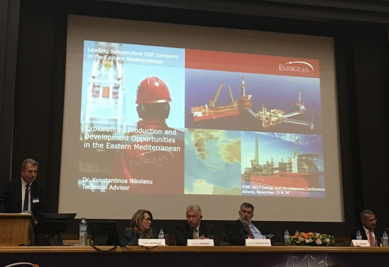 Κ. Νικολάου (Energean): «Σε εξέλιξη η ανάπτυξη επτά κοιτασμάτων σε Ελλάδα και ΝΑ Μεσόγειο»