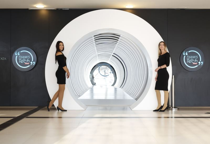 """Κωτσόβολος: Η έκθεση """"Thanks to Tech""""- Εμπειρίες και συσκευές από το μέλλον!"""