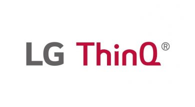 LG ThinQ Logo White