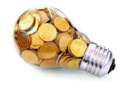 lamp-with-coins-coins-in-the-bulb-the-money-for-electricity-make-electricity-save-on-electricity