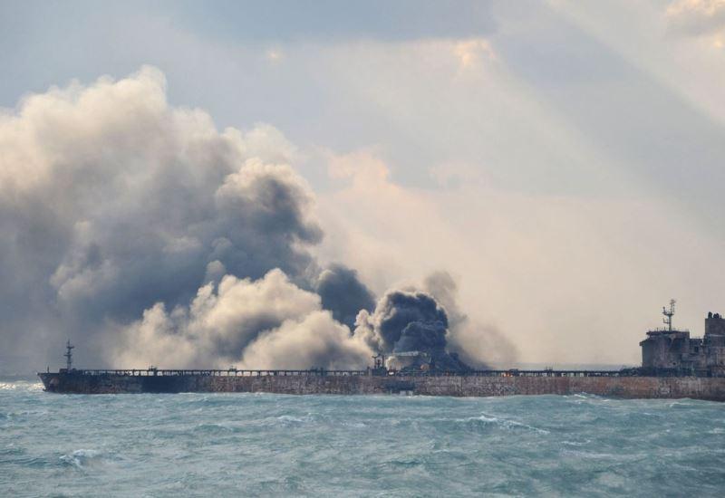 Κίνα: Βυθίστηκε το ιρακινό δεξαμενόπλοιο που φλεγόταν- Νεκροί θεωρούνται οι αγνοούμενοι (βίντεο)