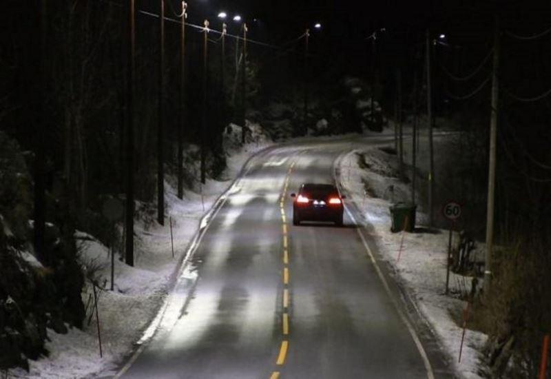 Νορβγηγία: Φωτισμός LED με αισθητήρες σε αυτοκινητόδρομο (βίντεο)