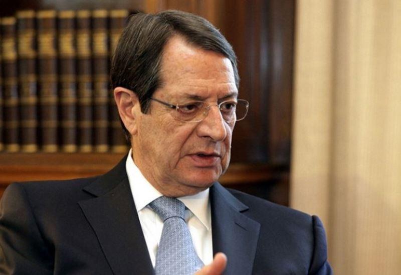 Ν. Αναστασιάδης: «Στενή συνεργασία Κύπρου- Ελλάδας για το θέμα της ΑΟΖ»
