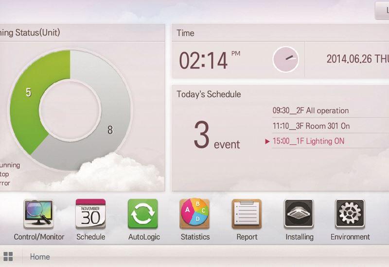 LG: Tο νέο κεντρικό χειριστήριο AC Smart Bacnet