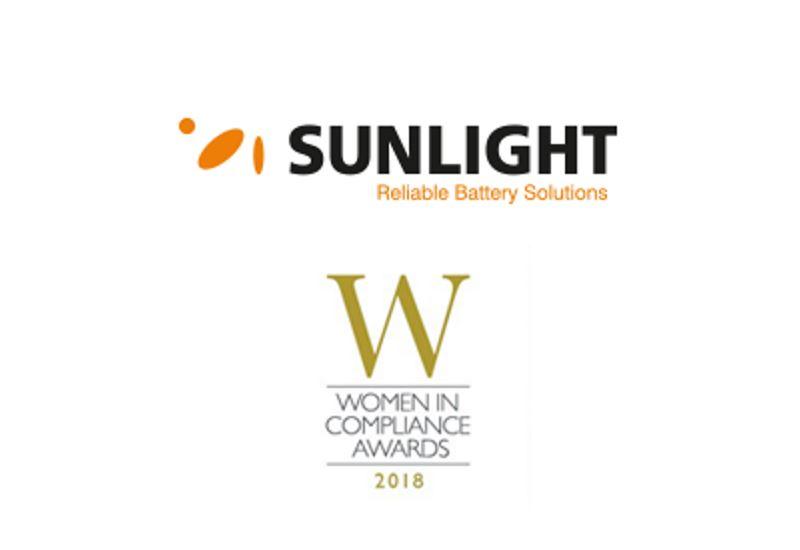 Συστήματα Sunlight: Υποψηφιότητα στα Βραβεία «Women in Compliance Awards»