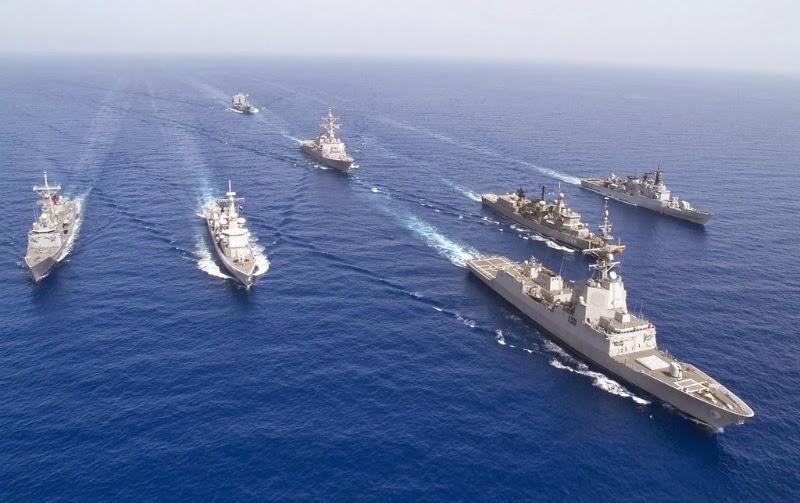 Στην κυπριακή ΑΟΖ τα πλοία της Exxon συνοδεία του αμερικανικού στόλου