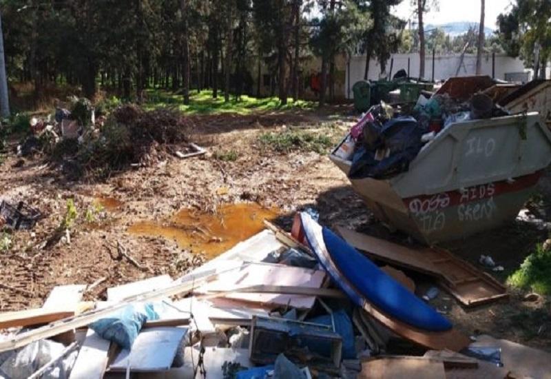 Κίνδυνοι για το περιβάλλον από τα σκουπίδια στο εργοτάξιο της ΑΕΚ (vid)