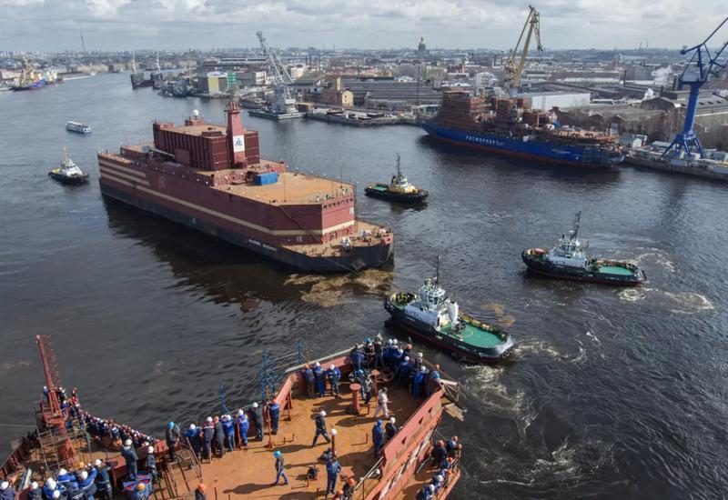 Κατέπλευσε στην Αρκτική ο ρώσικος πλωτός πυρηνικός σταθμός