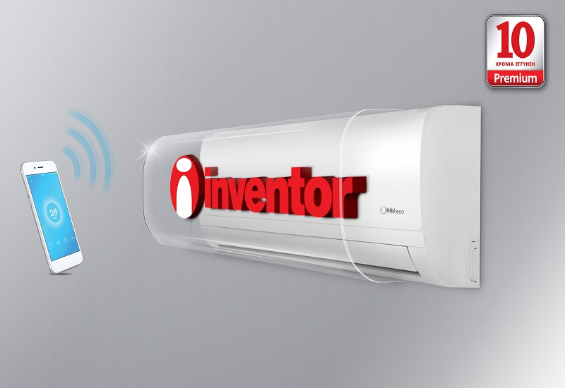Νέες σειρές κλιματιστικών Inventor