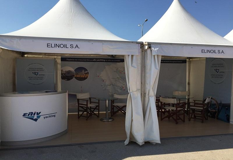 Η ελίν χρυσός χορηγός στην έκθεση Mediterranean Yacht Show στο Ναύπλιο