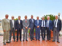 Συνάντηση ανώτατων στελεχών της General Electric και της ΔΕΗ A.E.