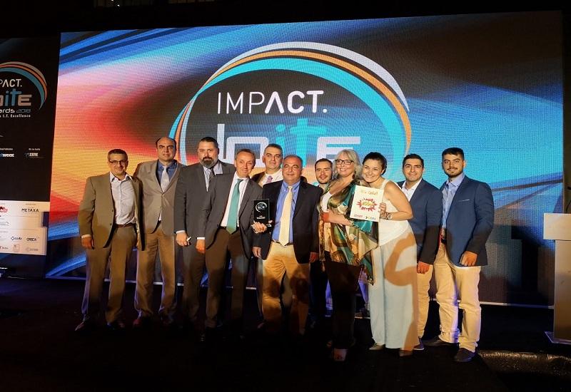 Χρυσή διάκριση της Data Communication στα Impact BITE Awards 2018!