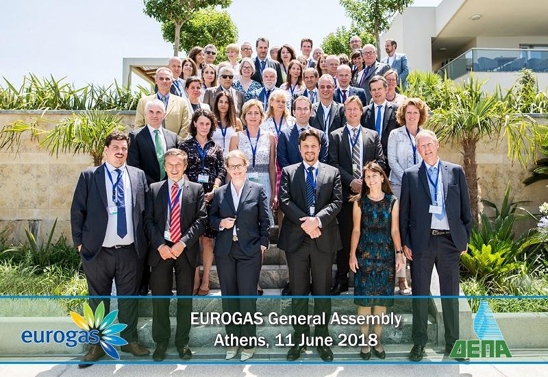 Η ΔΕΠΑ φιλοξένησε τη Γενική Συνέλευση του Eurogas στην Αθήνα