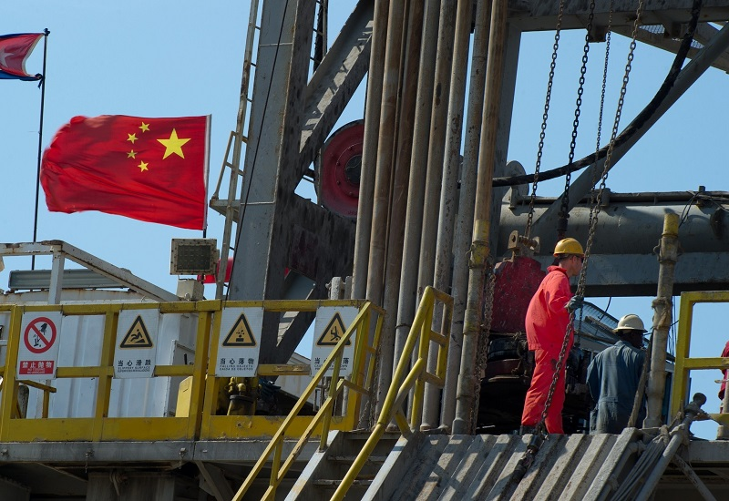 Total: Ρεκόρ στην παραγωγή πετρελαίου στην Κίνα