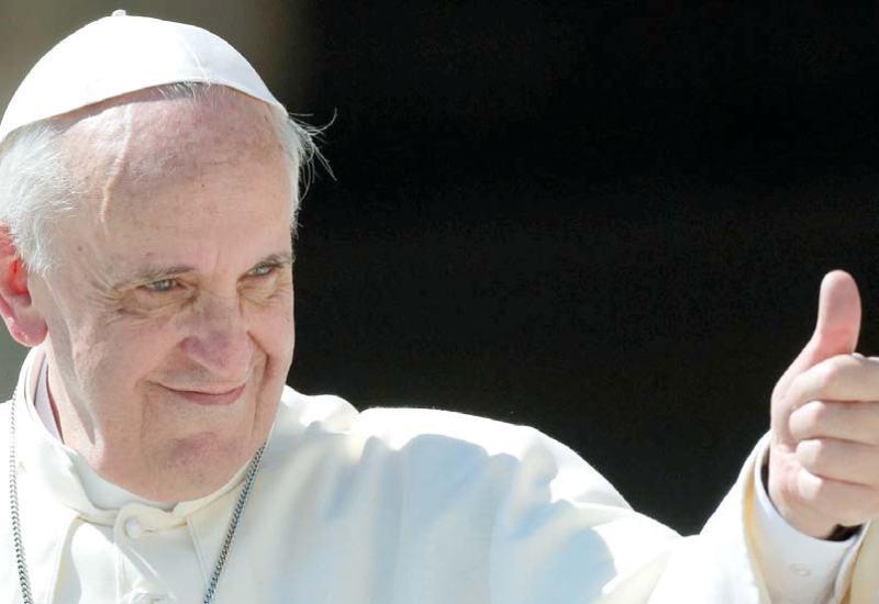 """Πάπας Φραγκίσκος: """"Ο πολιτισμός απαιτεί ενέργεια"""""""