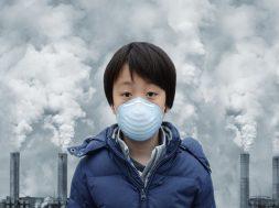 pollution child