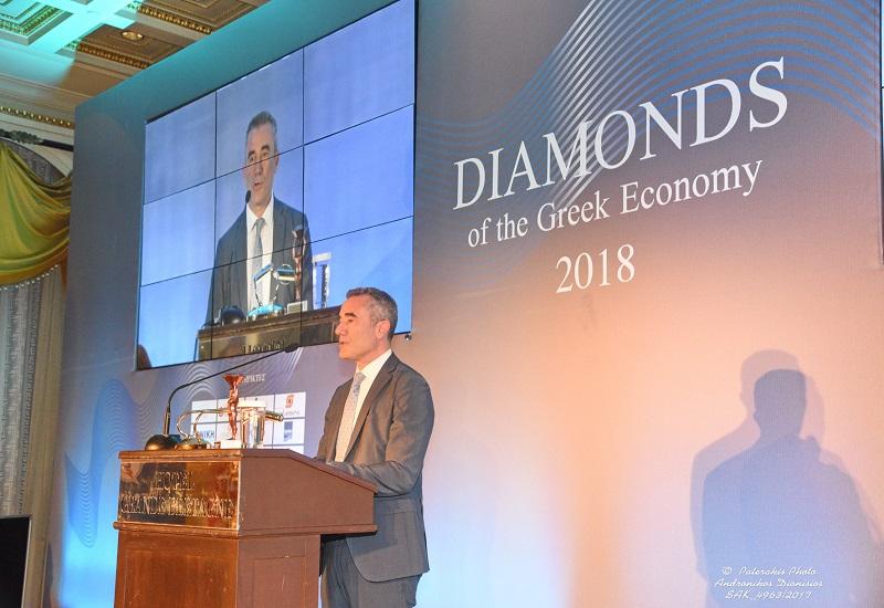Βράβευση της Ελληνικά Καλώδια Cablel® στα «Diamonds of Greek Economy Awards 2018»