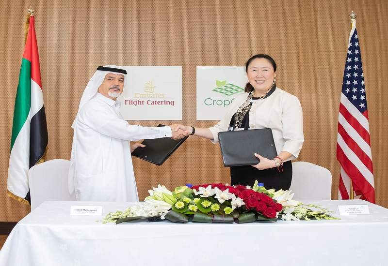 Emirates Flight Catering: Στο Ντουμπάϊ η μεγαλύτερη εγκατάσταση κάθετης γεωργικής καλλιέργειας