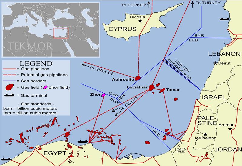 Επενδύουν στον αγωγό Ισραήλ-Αιγύπτου Delek και Noble