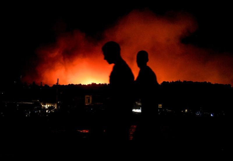 """""""Τοξικός ο αέρας μετά τις πυρκαγιές"""""""