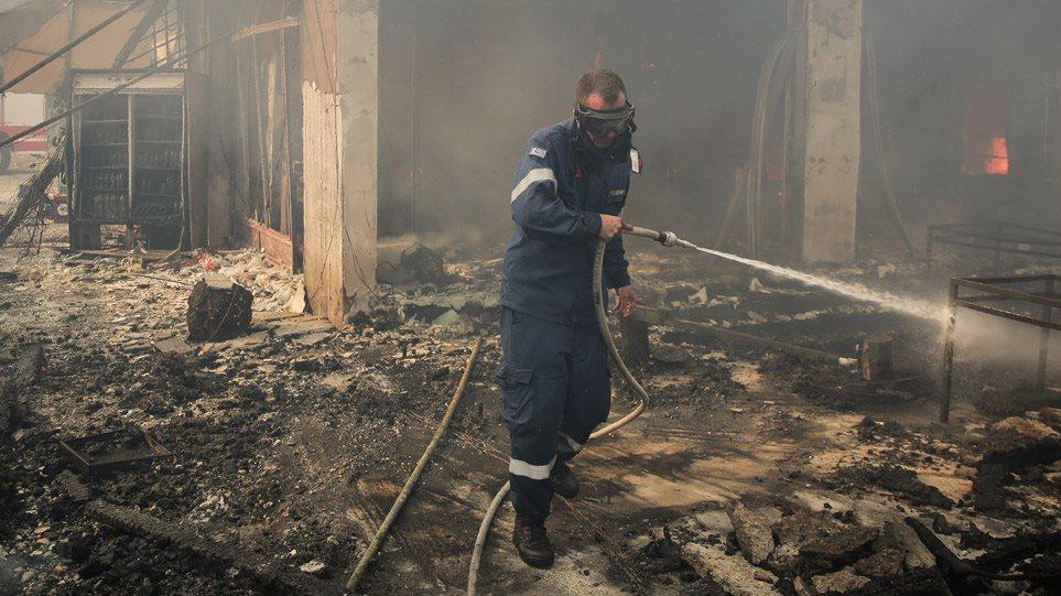 Μαζί ΥΠΕΝ και ΕΜΠ για την αποκατάσταση των ζημιών από τις φωτιές