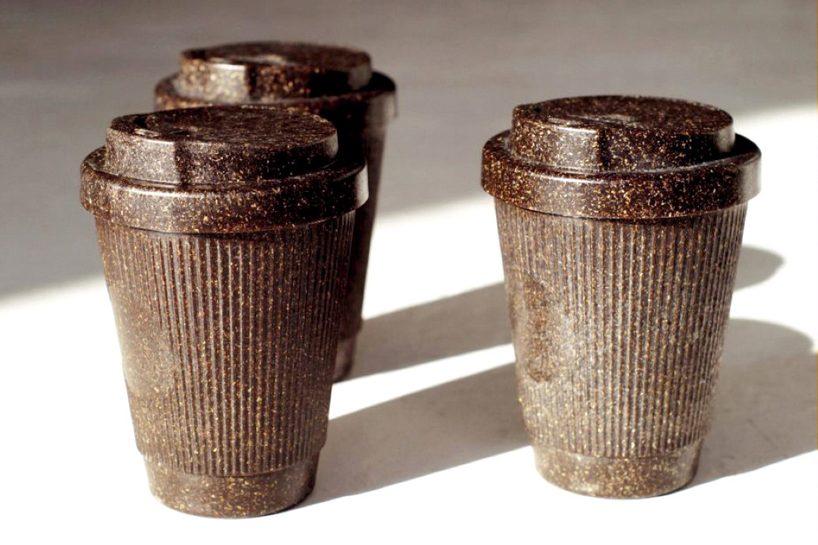 Πλαστικά ποτήρια μίας χρήσης από υπολείμματα καφέ;