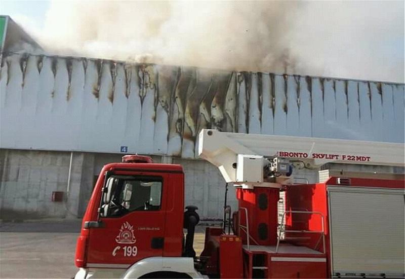 Φωτιά σε εργοστάσιο της Sunlight – Κατασβέστηκε αμέσως