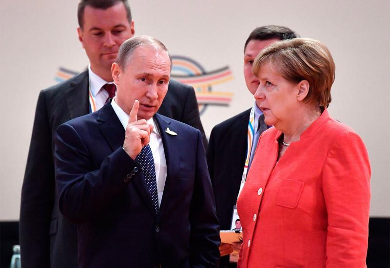 Τα είπαν για την ενέργεια Πούτιν-Μέρκελ