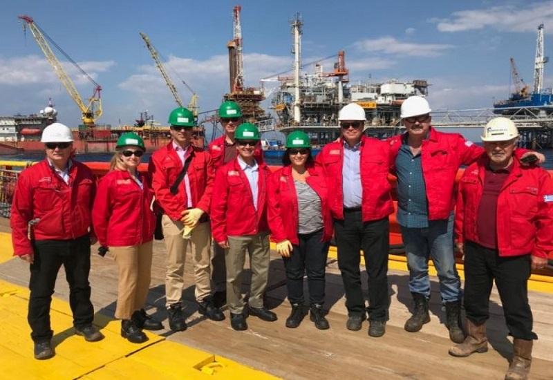 Επίσκεψη του υφυπουργού Ενέργειας των ΗΠΑ στις εγκαταστάσεις του Πρίνου στην Καβάλα