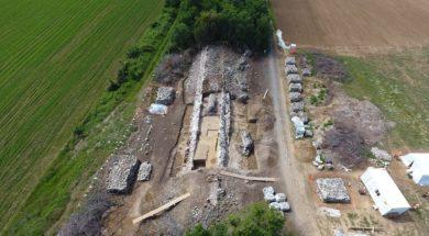 3-Amaxades_ Stability works on the Byzantine Anastasioupolis Wall