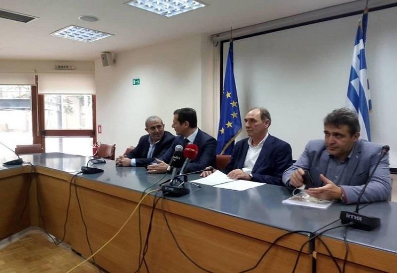 """Γ. Σταθάκης: """"Το μεγαλύτερο έργο της Ελλάδας η διπλή διασύνδεση της Κρήτης"""""""