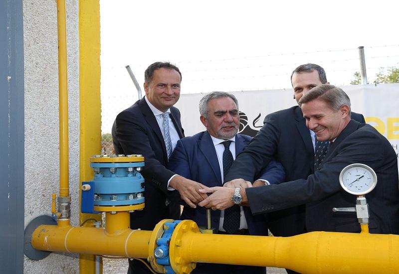 Εγκαινιάστηκε ο πρώτος σταθμός αποσυμπίεσης φυσικού αερίου στο Λαγκαδά Θεσσαλονίκης